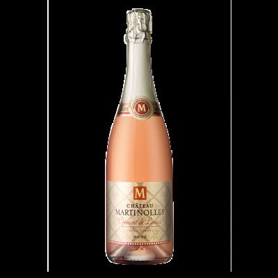 sparkling wine crémant limoux pink